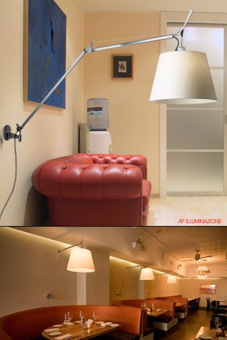 Forum posizionamento lampada a parete for Artemide lampade roma
