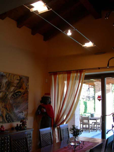 Ap illuminazione lampadari lampade e luci moderne di design for Arredamento per sala da pranzo