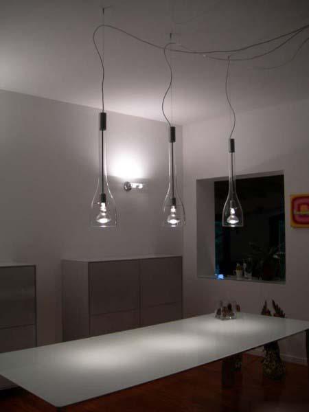 Ap illuminazione lampadari lampade e luci moderne di design for Lampadari con lampade a led