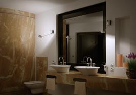 Lampadari lampade appliques ap illuminazione vendita online - Lampade riscaldanti per bagno ...
