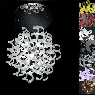 lampadari metallux : metallux astro sospensione cascata d 70 codice 206 175 metallux