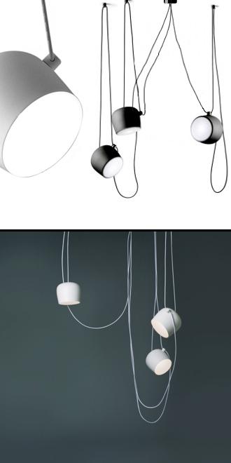 Lampadari lampade appliques ap illuminazione vendita online for Flos aim 3 luci prezzo